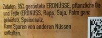 Erdnussbutter - Zutaten - de