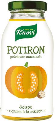 Knorr Comme à la Maison Soupe Liquide Potiron Pointe de Muscade Bouteille 45cl - Producto - fr