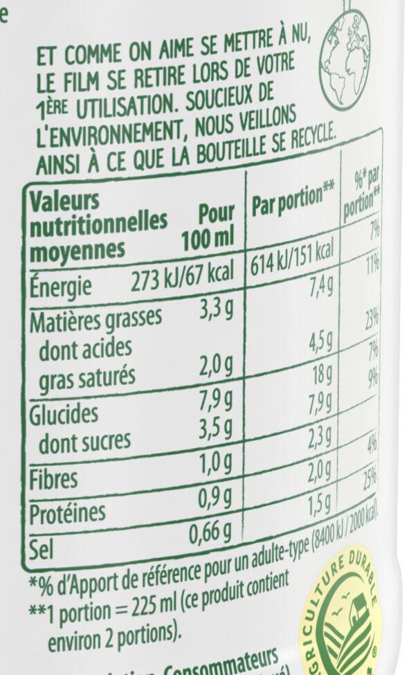 Knorr Comme à La Maison Soupe Liquide Légumes du Potager 45cl - Nutrition facts - fr