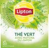 Lipton Thé Vert Matcha 20 Sachets - Produit