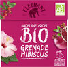 Elephant Bio Mon Infusion Grenade Hibiscus 20 Sachets - Product