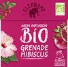 Elephant Bio Tisane Grenade Hibiscus 20 Sachets - Product