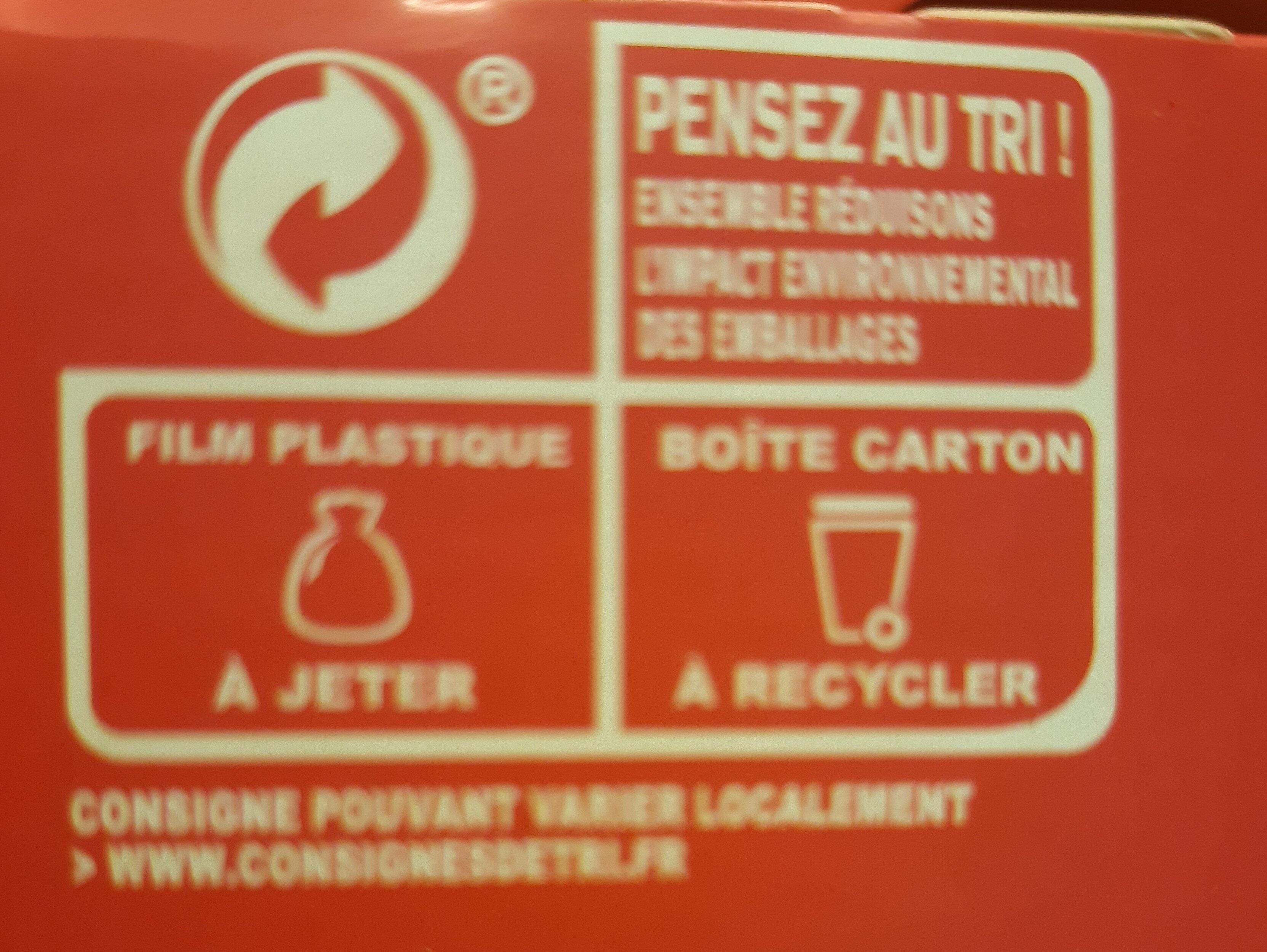 Elephant Bio Tisane Grenade Hibiscus 20 Sachets - Instruction de recyclage et/ou informations d'emballage - fr