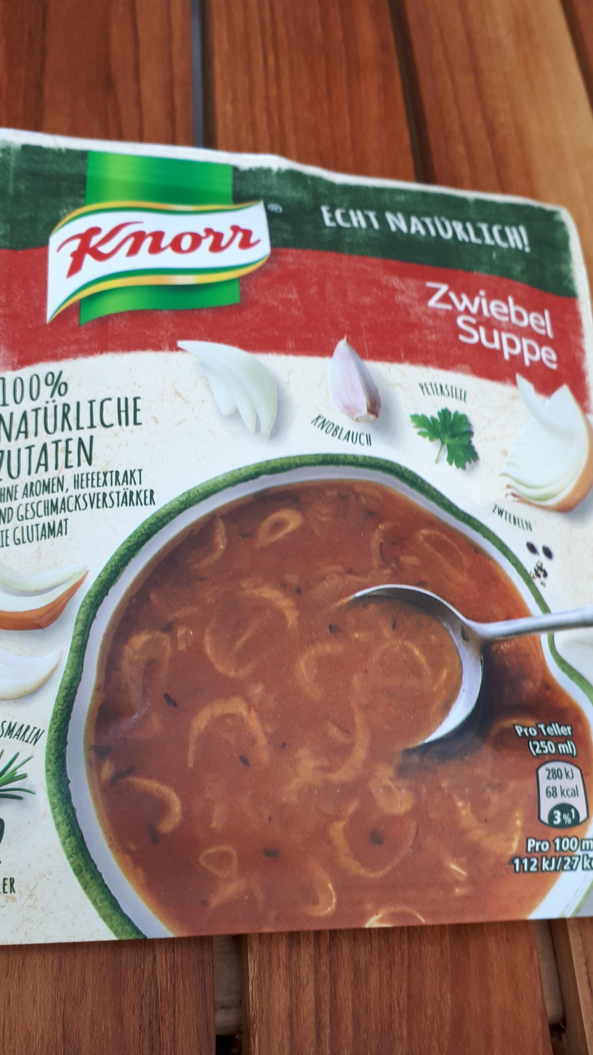Zwiebel Suppe - Produit