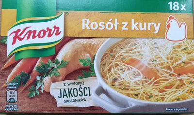 Kostka rosołowa - Produkt - pl