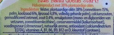 Halvarine Blue Band - Ingrediënten