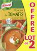 Knorr Douceur de Tomates à la Crème Fraîche Lot 2x1L - Produto