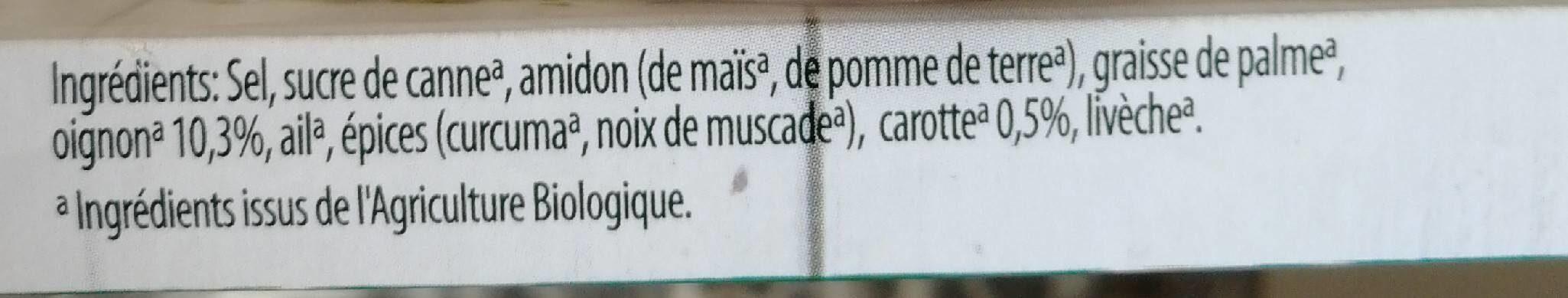 Bouillon Légumes - Ingrediënten