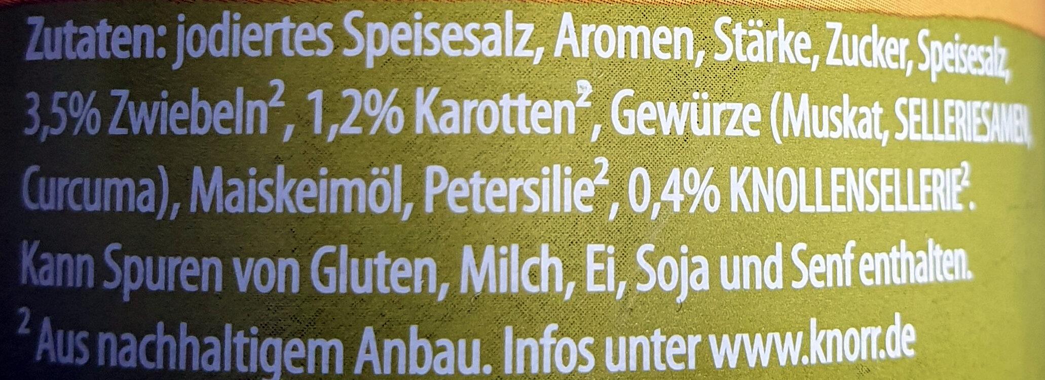 Delikatess Brühe - Ingredients - de