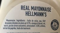 Mayonnaise - Ingredients - fr