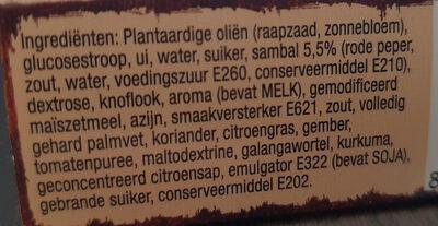Rendang Vlees - Ingrediënten - nl