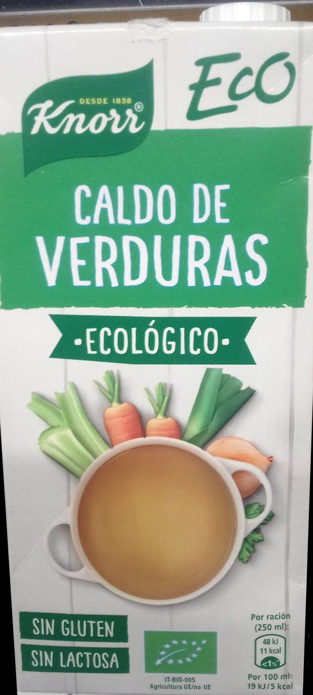 Eco caldo de verduras ecológico, sin gluten y sin lactosa - Producto