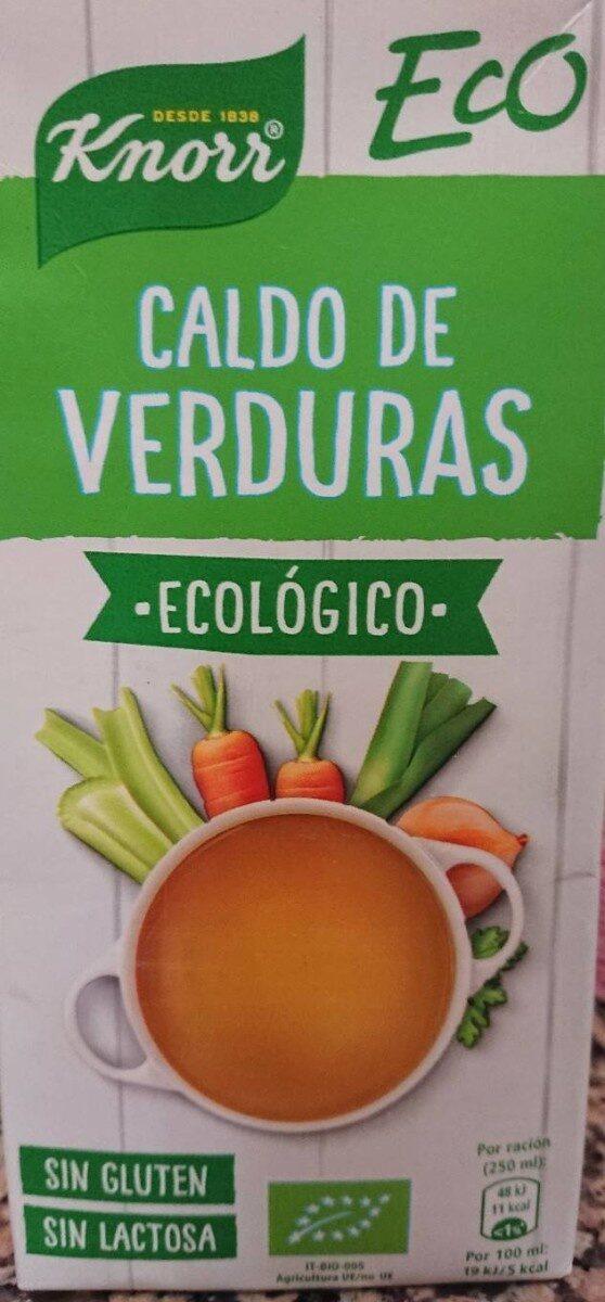 Eco caldo de verduras ecológico, sin gluten y sin lactosa - Produit