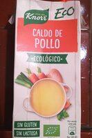 Eco caldo de pollo ecológico, sin gluten y sin lactosa envase 1 l - Product - en