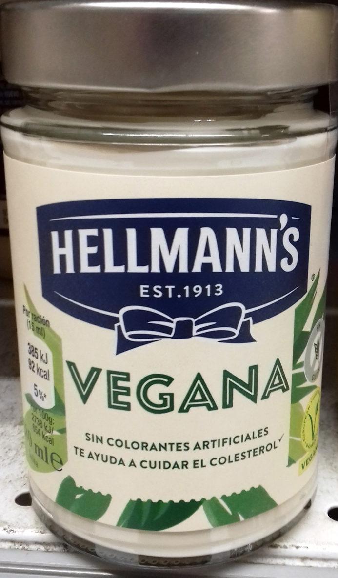 Hellman's Vegana sin huevo - Producto - es