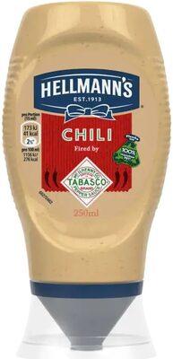 Hellmann's Chili Fired by Tabasco® - Produkt - de