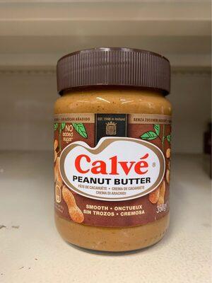 Calvé Peanut butter - Informations nutritionnelles - fr