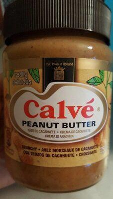 Pâte de cacahuète avec morceaux - Producto