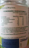 Vegan - Informations nutritionnelles - fr