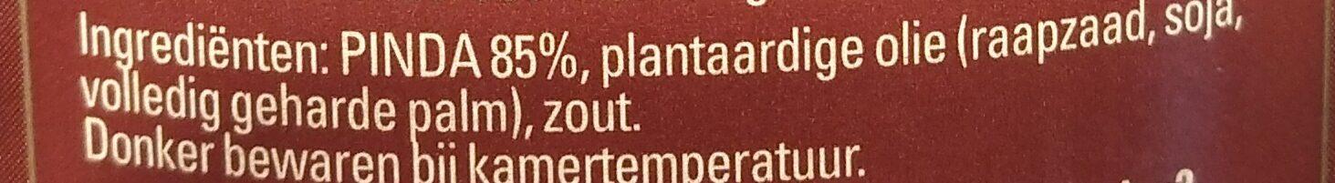 Pindakaas - Ingrediënten