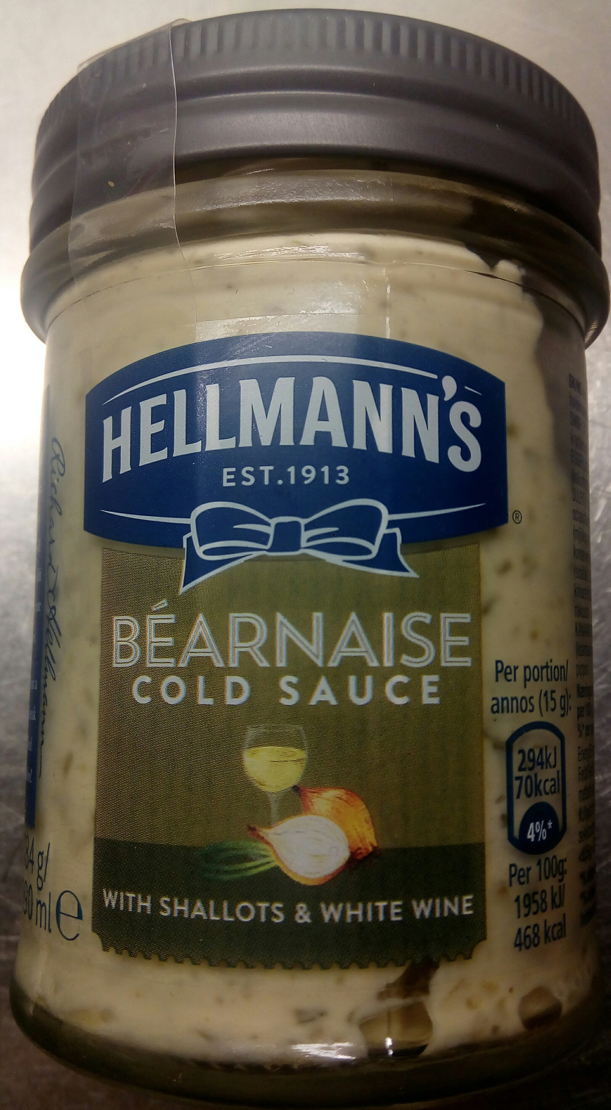 Hellmann's Béarnaise Cold Sauce with Shallots & White Wine - Produit - sv