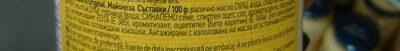 Hellmans original - Съставки - en