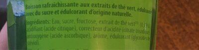 Green Ice Tea - Ingrédients - fr