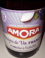 Amora Vinaigre Français Aromatisé à l'Echalote 60cl - Product - fr
