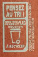 Amora Vinaigre Français de Vin Rouge Bouteille - Recyclinginstructies en / of verpakkingsinformatie - fr