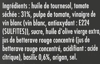 Apéritif Tomates Séchées & Pointe de basilic - Ingrediënten - fr
