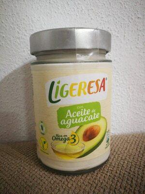 Salsa con aceite de aguacate Ligeresa