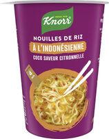 Knorr Nouilles de Riz Indonésienne Coco Citronnelle - Produit - fr