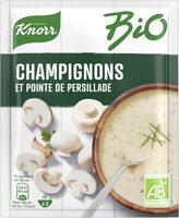 Knorr Soupe Déshydratée Bio Champignons Pointe de Persillade - Product - fr