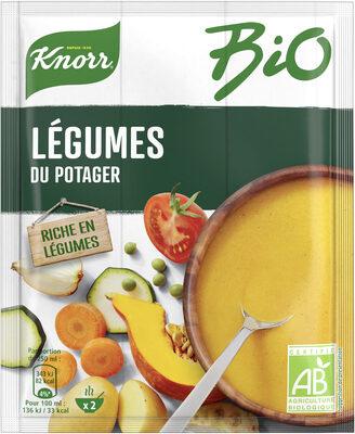 Knorr Soupe Bio Déshydratée Légumes du Potager - Produit - fr