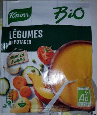 Knorr Soupe Bio Déshydratée Légumes du Potager - Product - fr
