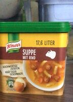 Suppe mit Rind - Produit - de