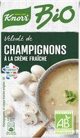 Knorr Velouté Bio Champignons à la Crème Fraîche 1L - Produit - fr