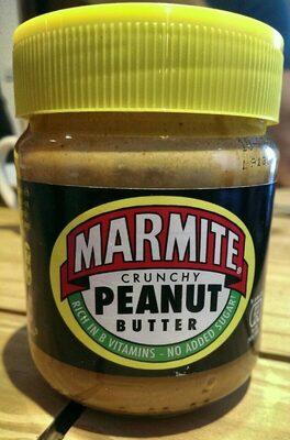 Marmite crunchy peanut butter - Produit