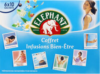 Elephant Infusions Coffret Bien-Etre 60 Sachets - Product