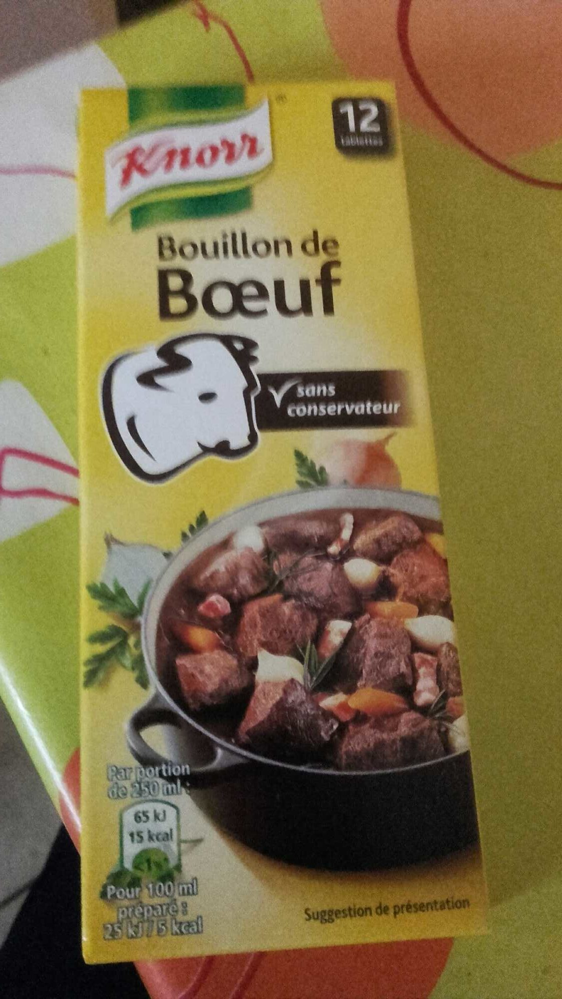 Knorr saveur boeuf - Product - fr