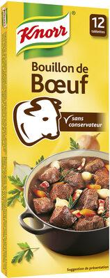 Knorr Bouillon Cube Bœuf 12 Cubes - Product - fr