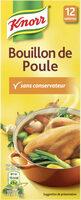 Knorr Bouillon Poule 12 Cubes - Product - fr