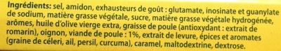 Bouillon de poule - Ingredientes