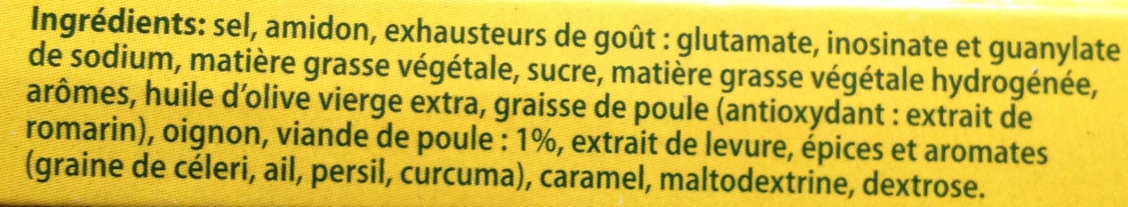 Bouillon de poule - Ingredients