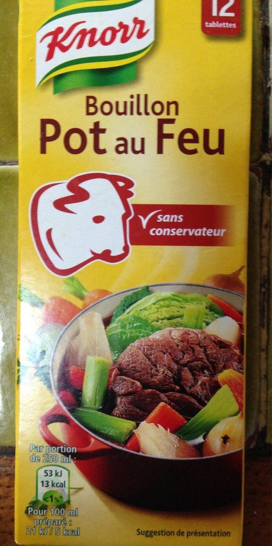 Bouillon Pot-au-Feu - Produit