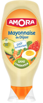 Amora Mayonnaise De Dijon Nature Flacon Souple - Produit - fr