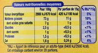 Amora Mayonnaise De Dijon Nature Flacon Souple - Voedingswaarden - fr