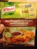 Mes Nuggets de Poulet sauce barbecue - 57 g - Knorr - Product