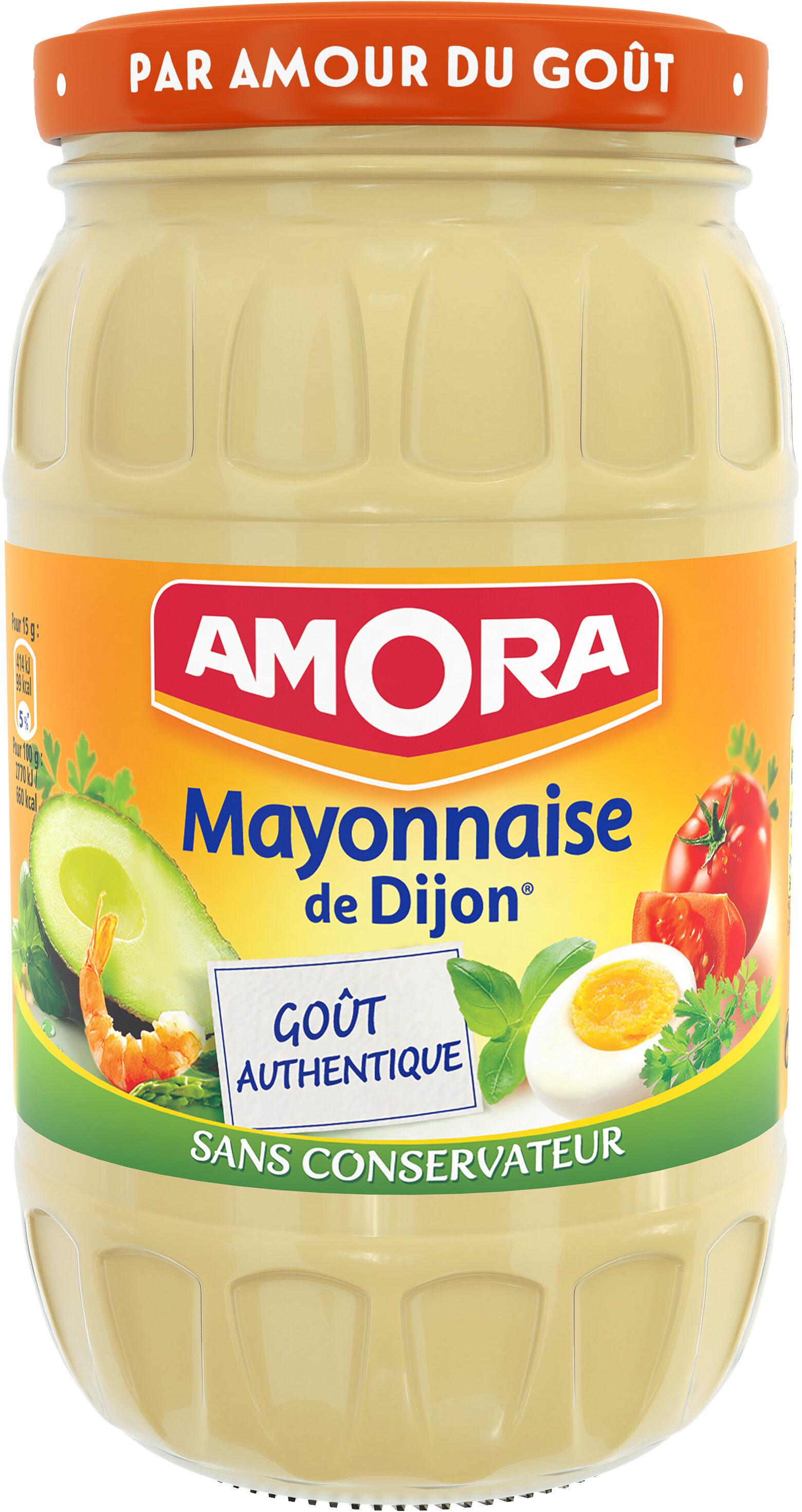 Amora Mayonnaise De Dijon Nature Œufs de poules élevées en plein air - Produit - fr