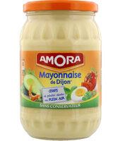 Amora Mayonnaise De Dijon Oeufs de poules élevées en plein air 725g - Produit - fr
